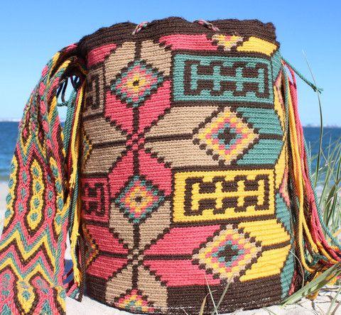 Mobolso - Amada - Wayuu Mochila Mobolso will be at #bondi #beach #markets…