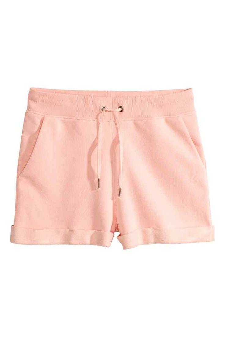 Pantaloni scurți - Roz-pudrat - FEMEI | H&M RO