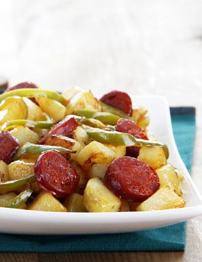 Recette Pommes de terre à l'Andalouse pour 4 personnes - GRAND FRAIS