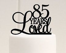 The 25 best 85th birthday ideas on Pinterest 80 birthday 90