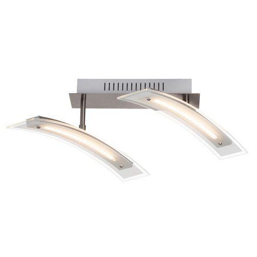 FLEXIBLE Brilliant - LED stropnica - kov+sklo - 400mm