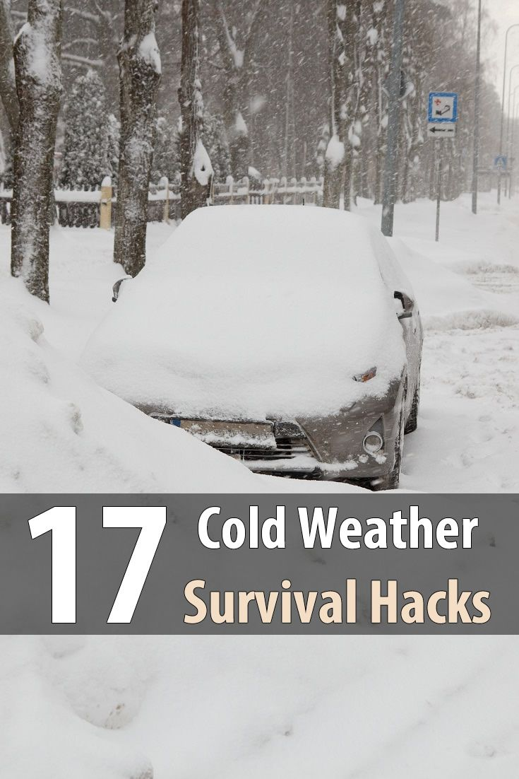 In case the SHTF during winter, here are 17 cold weather survival hacks to help you stay safe and comfortable despite frigid temperatures.