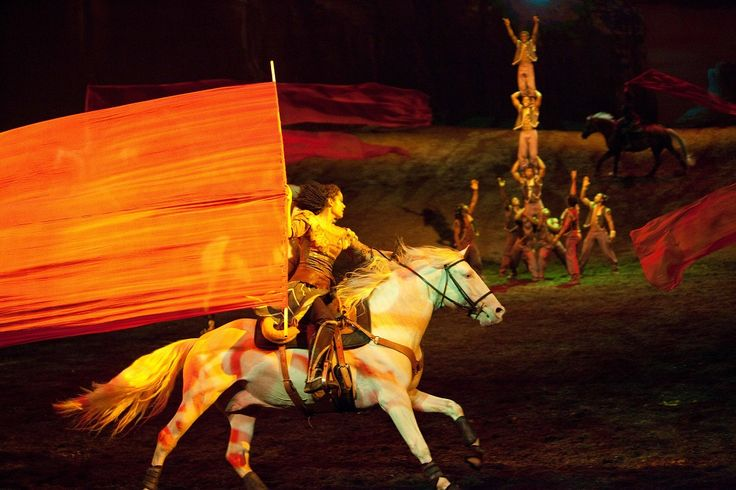 Odysseo cavalia horses acrobats music vocalists magical http