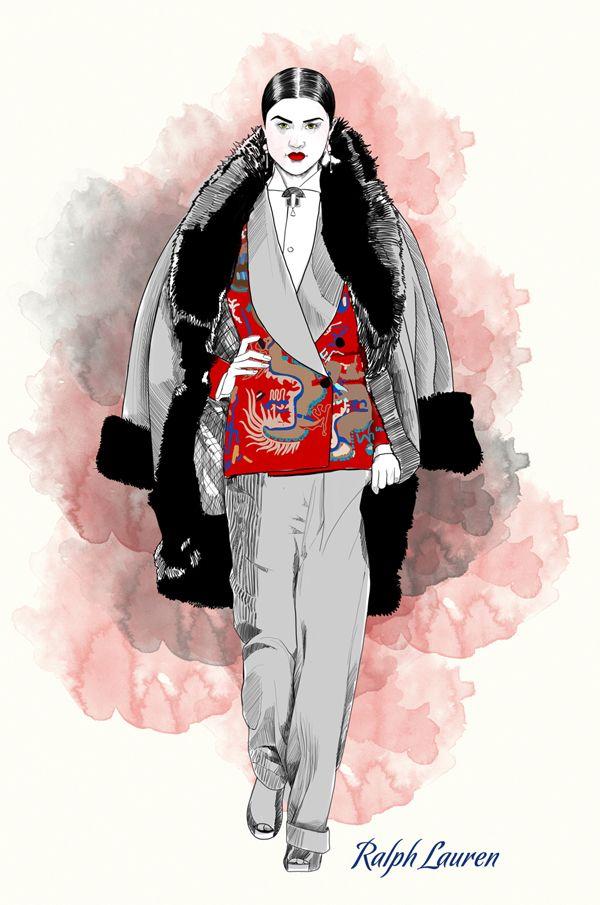 Mustafa soydan fashion illustrations dresses