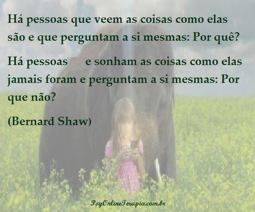 Frase de Bernard Shaw