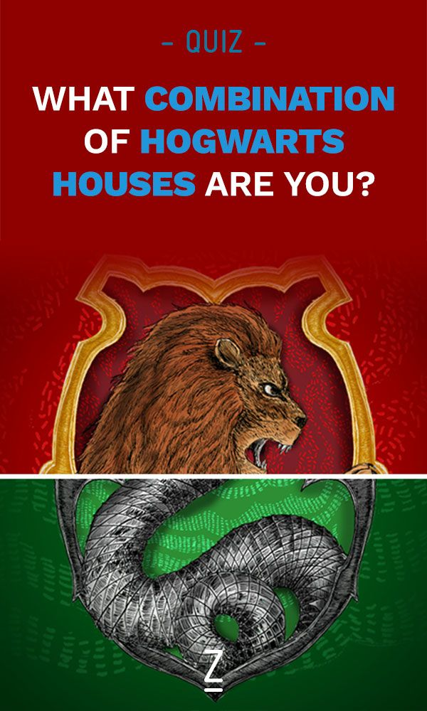 Slytherpuff? Gryffinclaw? Find out which combination of Harry Potter houses you are with our quiz!