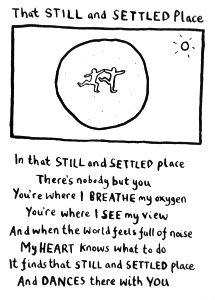 I Love This Poem By Edward Monkton