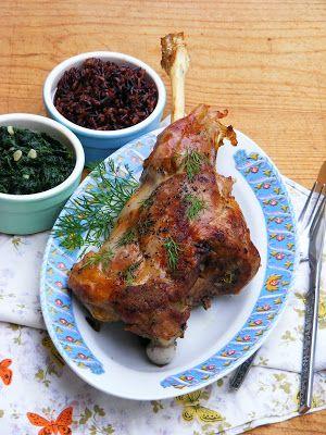 Makacska konyhája: Zöldhagymás, kapros báránycomb