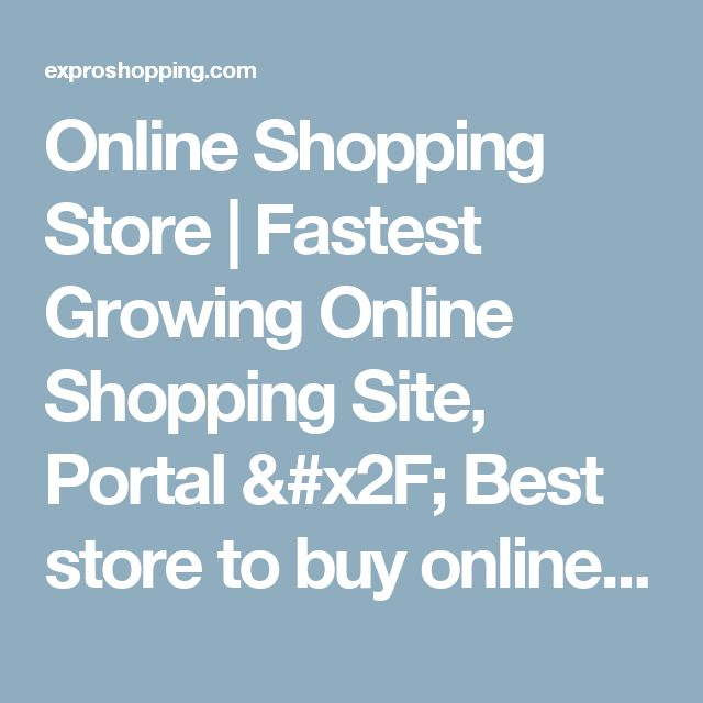 Online Shopping Store | Fastest Growing Online Shopping Site, Portal  /  Best store to buy online. Accessories Shopping Site | One of the biggest shopping site for all kinds of mobile, tablets, and smart phone accessories, big range accessories at one store