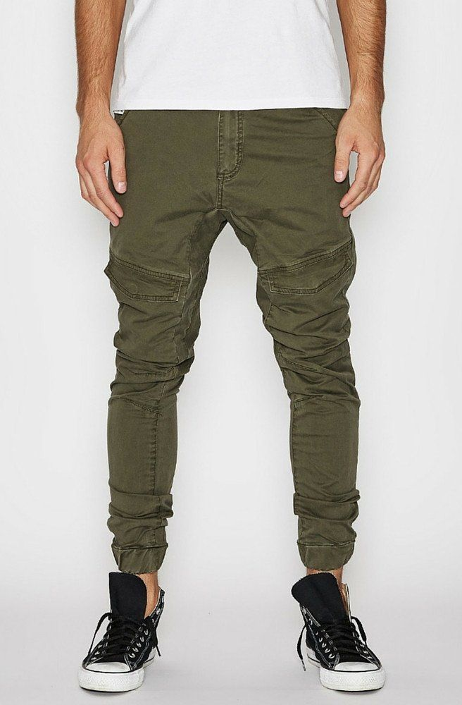 Flight Pants - Apache Green - Nena & Pasadena   Picpoket
