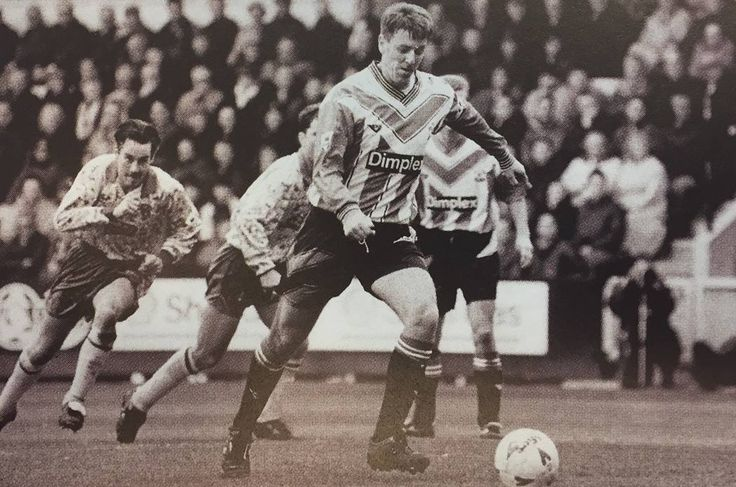 Matt le Tissier scores a penalty as part of his hat-trick in a 5-4 win over Norwich City at Carrow Road in April 1994