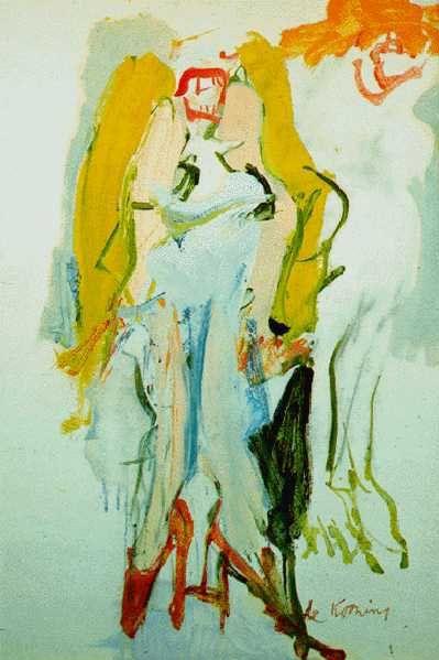 Singing Women -  Willem de Kooning  1966  Dutch 1904-1997