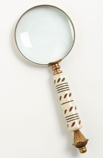 Brass Magnifying Glass available