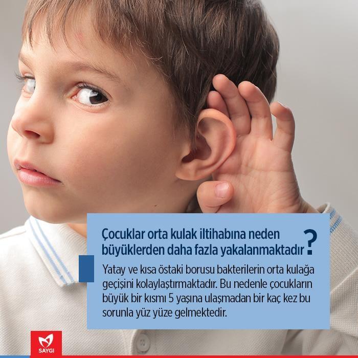 Çocuğunuz sürekli orta kulak iltihabına yakalanıyorsa... #saygihastanesi #kbb #saglik
