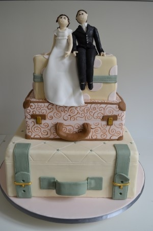 travel wedding cakes