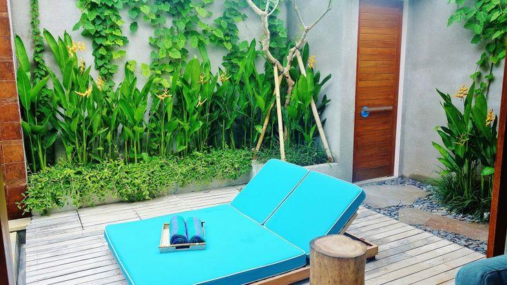 Get Tan Here! E: info@thegrovebalivillas.com   #bali #villas #balivillas #tan #summer #tropical #island #thebalibible #thebaliguideline #sundeck #pool #thegrovevillas