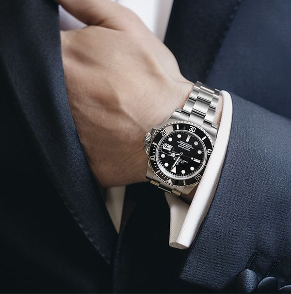 A rolex submariner date and a fine dinner jacket two timeless sartorial choices for a gentleman for Celebrity watches male