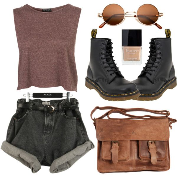 A fashion look from June 2013 featuring Dr. Martens shoes. Browse and shop related looks.