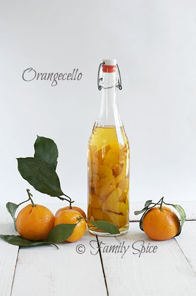 orange vodka Orangecello @Laura | Family Spice