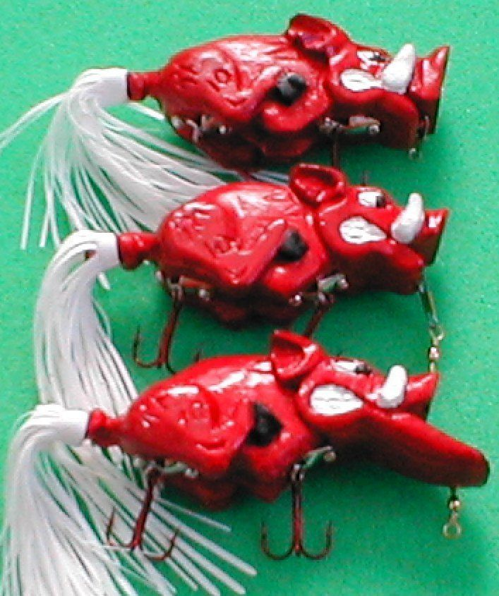 17 best images about razorback 39 s on pinterest metals for Fishing bait ark