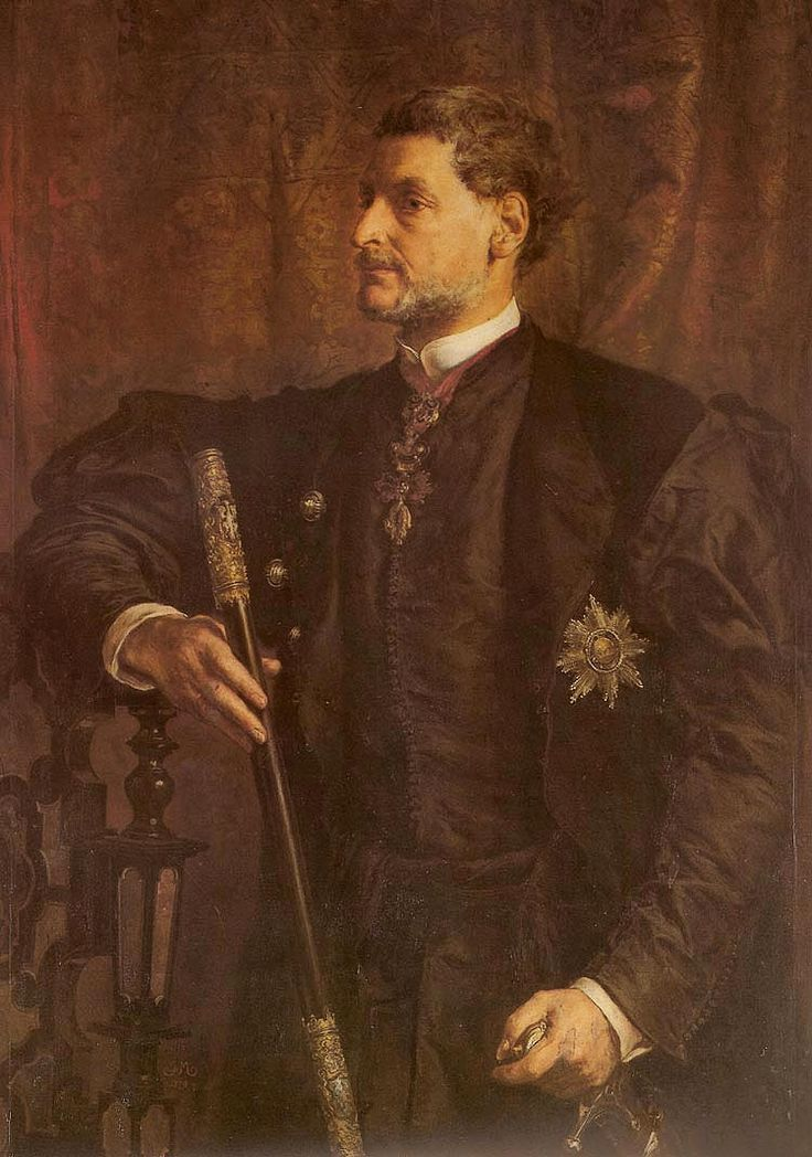 Portrait of Alfred Potocki- Jan Matejko