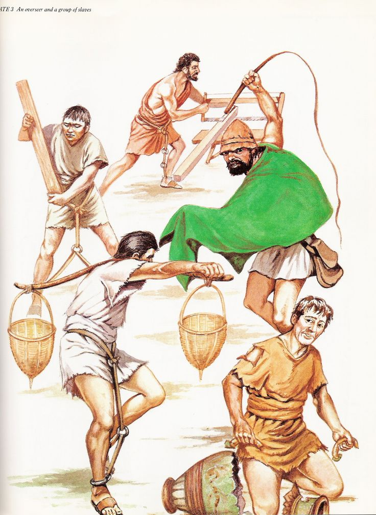 the value of ancient roman slaves Slaves in ancient rome wore tunics, usually made of cheap wool sewn together in a tube shape with holes for the arms the tunic came down to the knees and was worn with a.