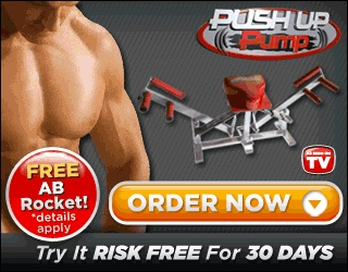 Push Up Pump helps you to do a full body push up. Have you had problems doing push ups or do you just want to get more out of doing push ups? The Push Up Pump is your machine for a total body work out.