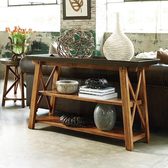 Hammary New River Console Table
