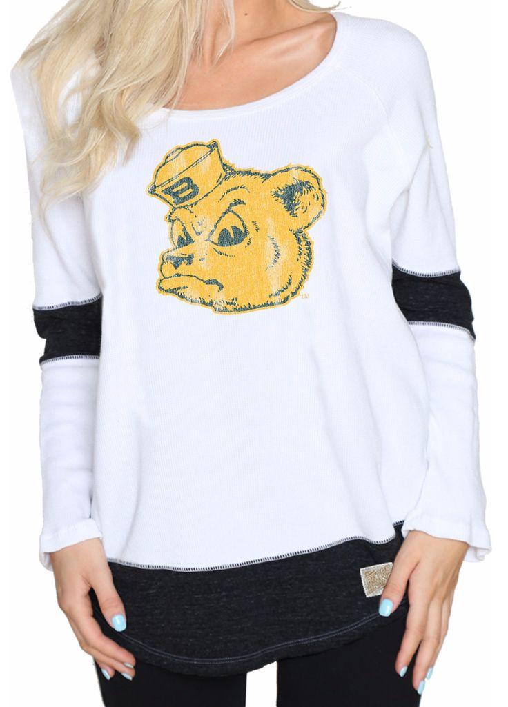 Women's Baylor Sailor Bear long sleeved T-shirt