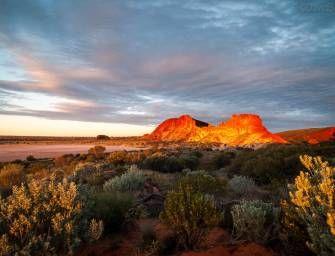 Sunset over Wurre – Rainbow Valley, Australia