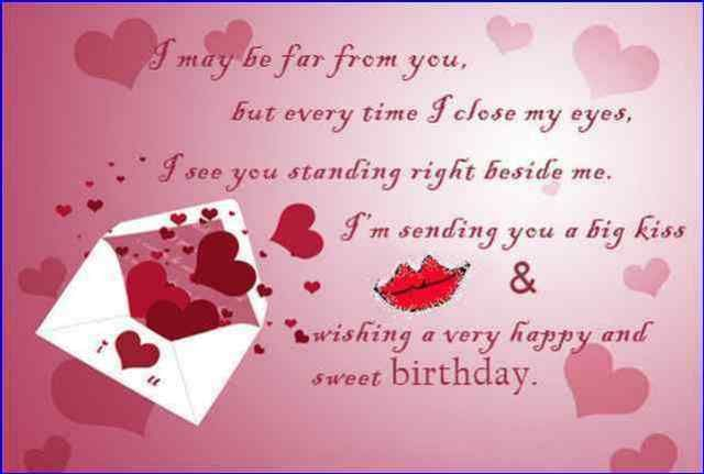 Far Away Birthday Message Photos For Him Birthday Message For Boyfriend Birthday Wishes For Wife Happy Birthday Messages