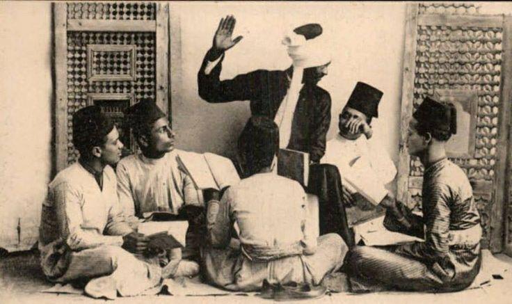 الكتاب (المدرسة الشعبية، غير النظامية) فلسطين  The Kuttab (traditional school) Palestine  El Kuttab (escuela popular) Palestina