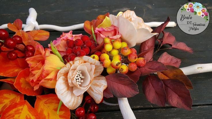 Foamiran flowers, kwiaty z foamiranu