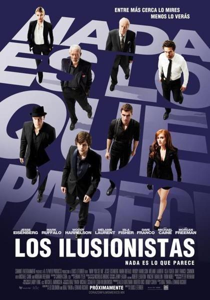ver Los ilusionistas (ahora me ves) 2013 online descargar HD gratis español latino subtitulada