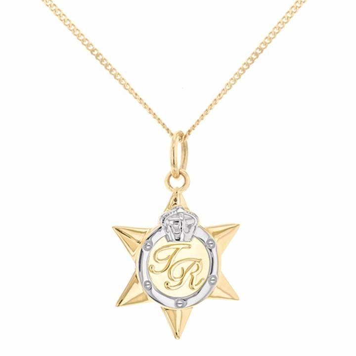 True Rocks - Mini Two Tone Star Medal Gold & Silver