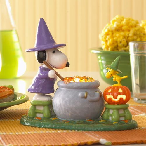 Image detail for -Peanuts and Snoopy Halloween Collectibles by Department 56