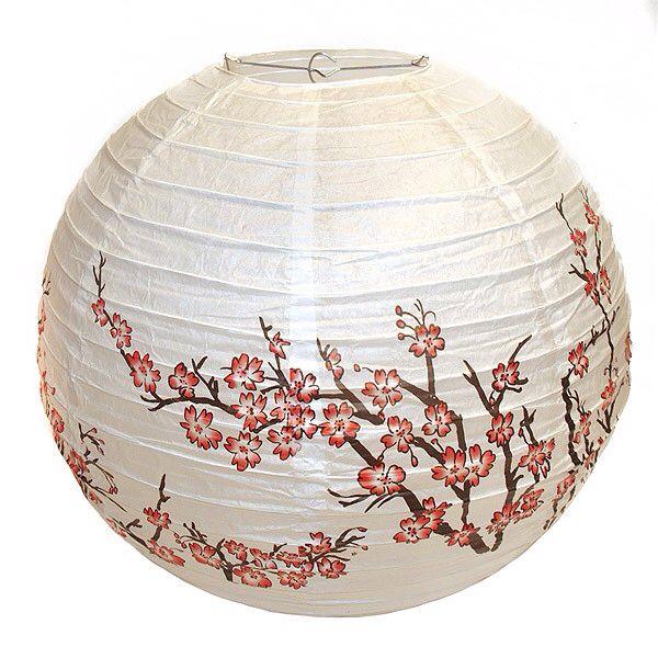 1000 images about boules japonaises on pinterest belle pastel and bebe - Plafonnier boule chinoise ...
