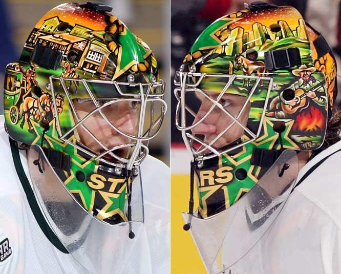 Mike Smith Dallas Stars SI.com - Photo Gallery - NHL Goalie Masks