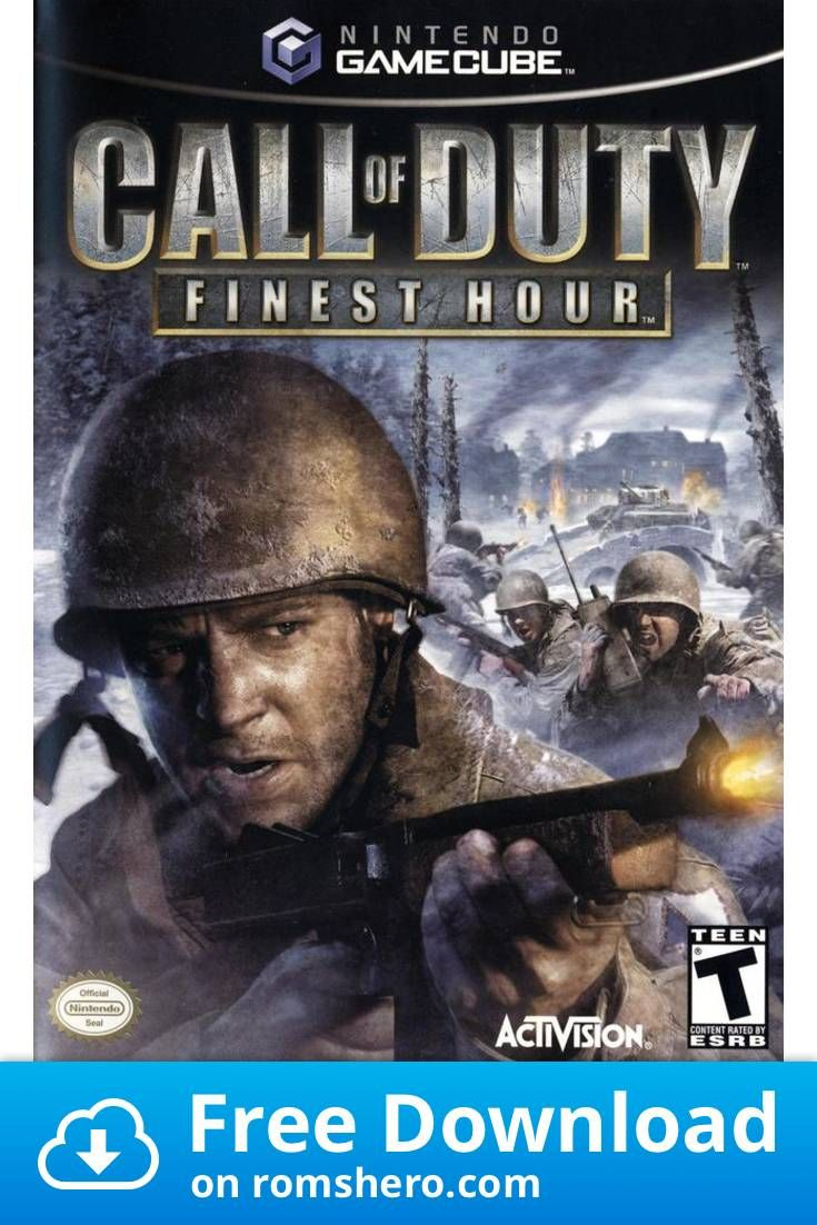 Download Call Of Duty Finest Hour Gamecube Rom In 2020 With