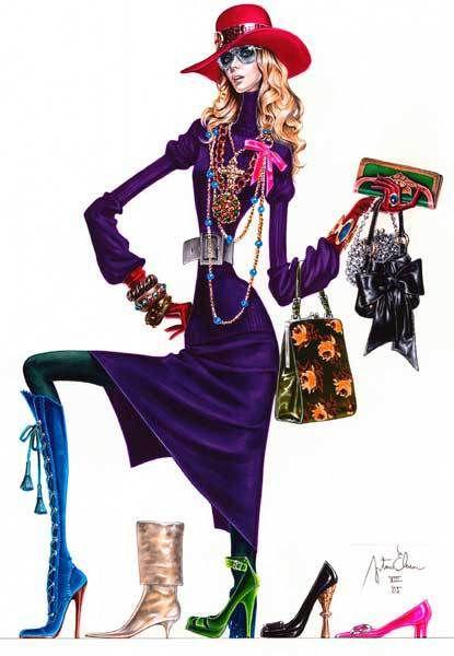 Ilustración de moda: las extraordinarias figuras de Arturo Elena