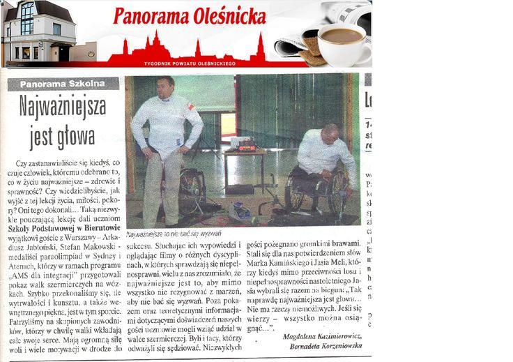 O AMS dla Integracji w Panoramie Oleśnickiej / About AMS for Integration in Panorama Oleśnicka