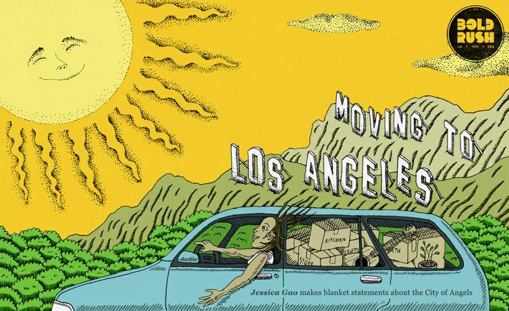 An incredibly accurate guide to moving to Los Angeles