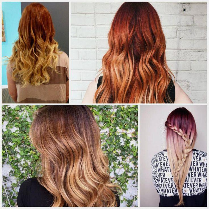 Perfekte Haarfarbe