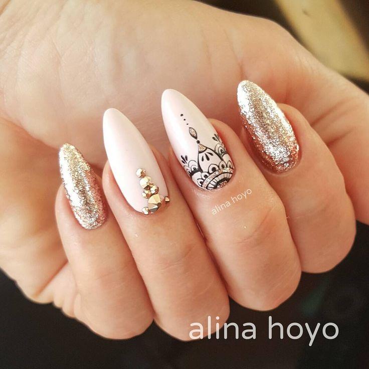 """245 Gostos, 2 Comentários - Alina Hoyo Nail Artist (@alinahoyonailartist) no Instagram: """"#alinahoyonailartist#nailart#nails #nailartmagazine #prettynails #nailtime #nailartaddict#gelnagels…"""""""