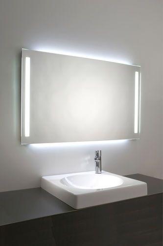 Espejos Para Bano Con Luz.Espejo Para Bano De Pared Con Luz Led Antivaho Moderno