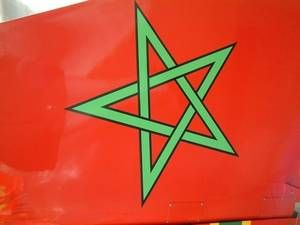 Le drapeau du Maroc