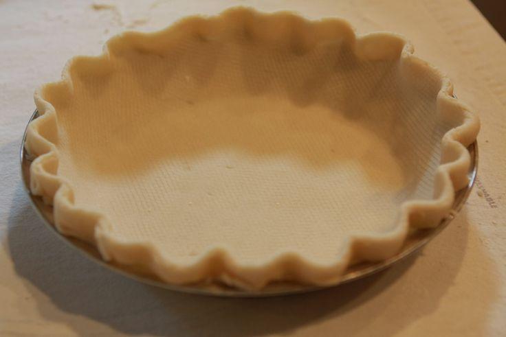 Pie crust made with lard