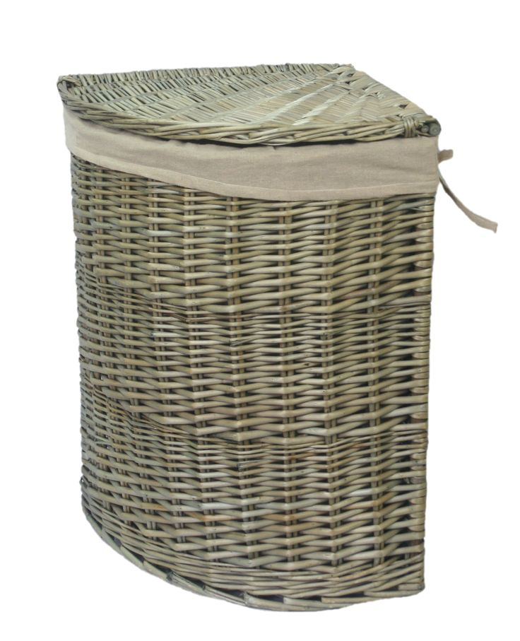 The 25 best corner laundry basket ideas on pinterest wall hanging storage small laundry room - Corner hamper with lid ...