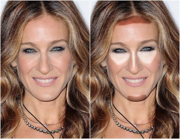 7 formatos de rosto, como contornar e iluminar cada um deles! - SUPERELA | Rostos compridos, Formato de rosto, Contorno de rosto
