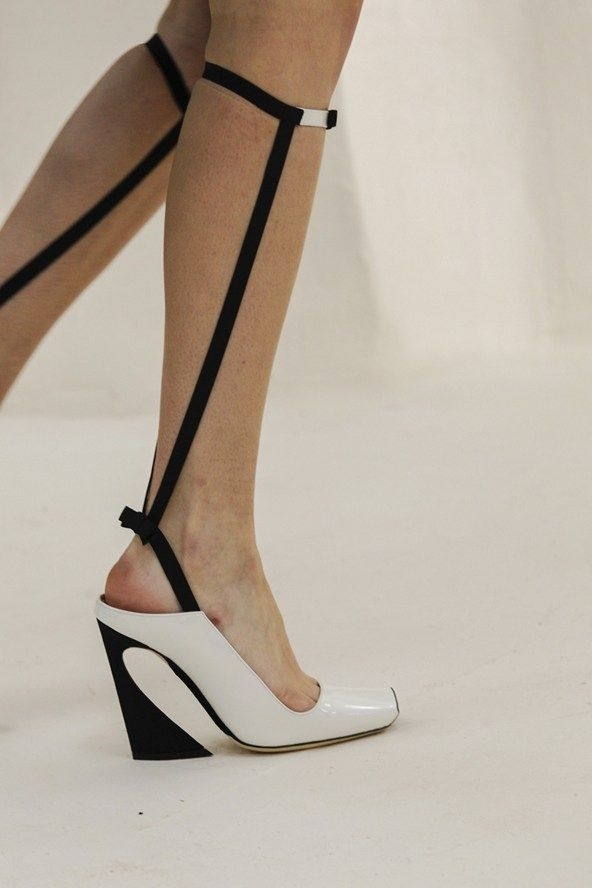 Real cool Dior shoes. Adjust them with this DIY: http://www.heelsrus.nl/get-the-gladiator-alexander-wang-look/